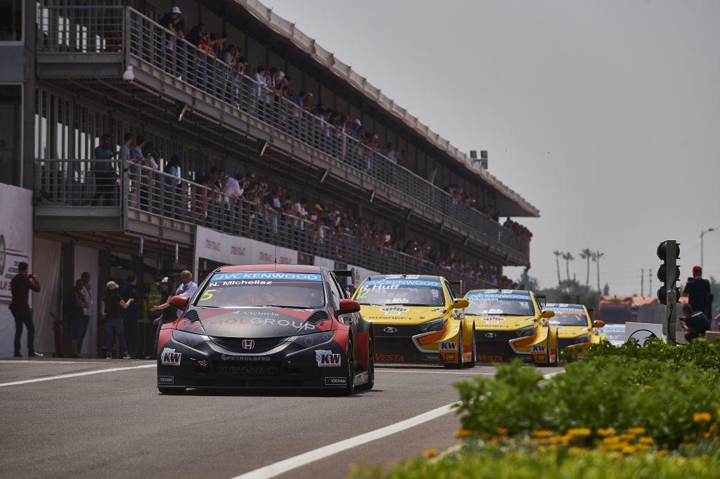 2015 EVENT: Race of Morocco TRACK: Circuit Moulay el Hassan TEAM: Zengo Motorsport - Honda Customer Racing CAR: Honda Civic wtcc DRIVER: Norbert Michelisz