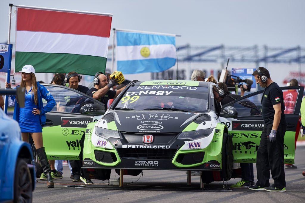 2016 EVENT: Race of Argentina TRACK: Circuito Termas de Rio Hondo TEAM: Zengo Motorsport - Honda Customer Racing CAR: Honda Civic wtcc DRIVER: Daniel Nagy